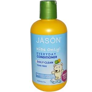 Джэйсон Нэчуралс, Kids Only!, Everyday Conditioner, Daily Clean, 8 oz (227 g) отзывы