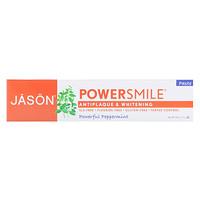 PowerSmile, паста для защиты от зубного налета с эффектом отбеливания, перечная мята, 170г - фото
