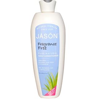 Jason Natural, Pure Natural Daily Conditioner, Fragrance Free, 16 oz (454 g)