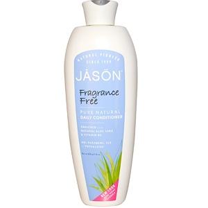 Jason Natural, Чистый натуральный ежедневный кондиционер, без отдушки, 454 г