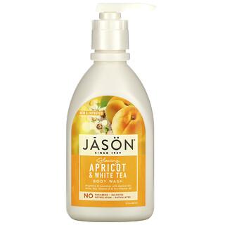 Jason Natural, Body Wash, Glowing Apricot & White Tea, 30 fl oz (887 ml)