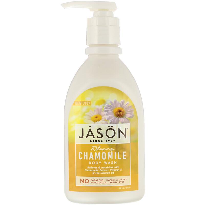 Body Wash, Relaxing Chamomile, 30 fl oz (887 ml)
