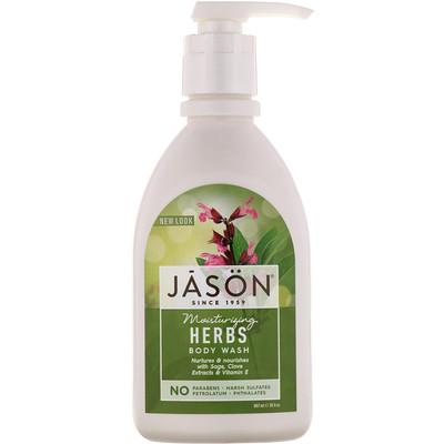 Купить Moisturizing Herbs Body Wash, 30 fl oz (887 ml)