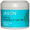 Jason Natural, Muscle Pain Therapy, Cooling Minerals & Tea Tree, 4 oz (113 g) (Discontinued Item)