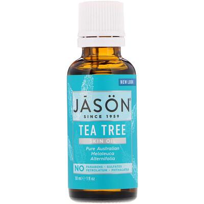 Купить Skin Oil, Tea Tree, 1 fl oz (30 ml)