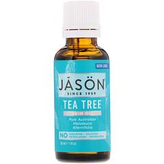Jason Natural, 皮膚油,茶樹,1 液量盎司(30 毫升)