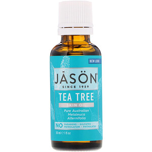 Джэйсон Нэчуралс, Skin Oil, Tea Tree, 1 fl oz (30 ml) отзывы покупателей