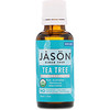 Jason Natural, 100 % органическое масло чайного дерева, 30 мл (1 жидкая унция)