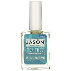 Jason Natural, 指甲保護液,茶樹,0.5 液量盎司(15 毫升)