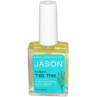Jason Natural, Protector de uñas, árbol de té, 0,5 fl oz (15 ml)