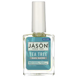 Jason Natural, Nail Saver, Tea Tree, 0.5 fl oz (15 ml)