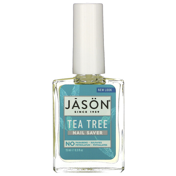 Jason Natural, Nail Saver, Tea Tree, 0.5 fl oz (15 ml)