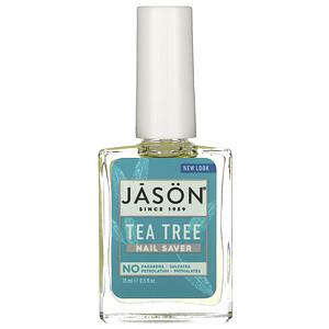Джэйсон Нэчуралс, Nail Saver, Tea Tree, 0.5 fl oz (15 ml) отзывы покупателей