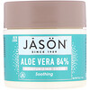 Jason Natural, Aloe Vera 84% Moisturizing Creme, Soothing, 4 oz (113 g)