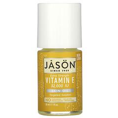 Jason Natural, 高效維生素 E 油,32000 國際單位,1 液量盎司(30 毫升)