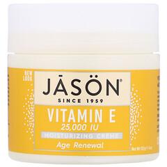 Jason Natural, 維生素E保濕霜,25,000 IU 4盎司(113克)
