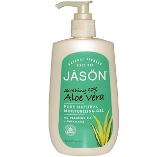 Jason Natural, Aloe Vera, Moisturizing Gel, 8 oz (227 g)