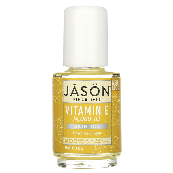 Jason Natural, Vitamin E, 14,000 IU, 1 fl oz (30 ml) (Discontinued Item)