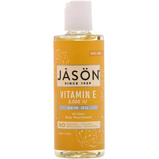 Jason Natural, Vitamin E Skin Oil, 5,000 IU, 4 fl oz (118 ml)