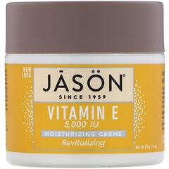 Jason Natural, 煥活維生素 E 保濕霜,5,000 國際單位,4 盎司(113 克)