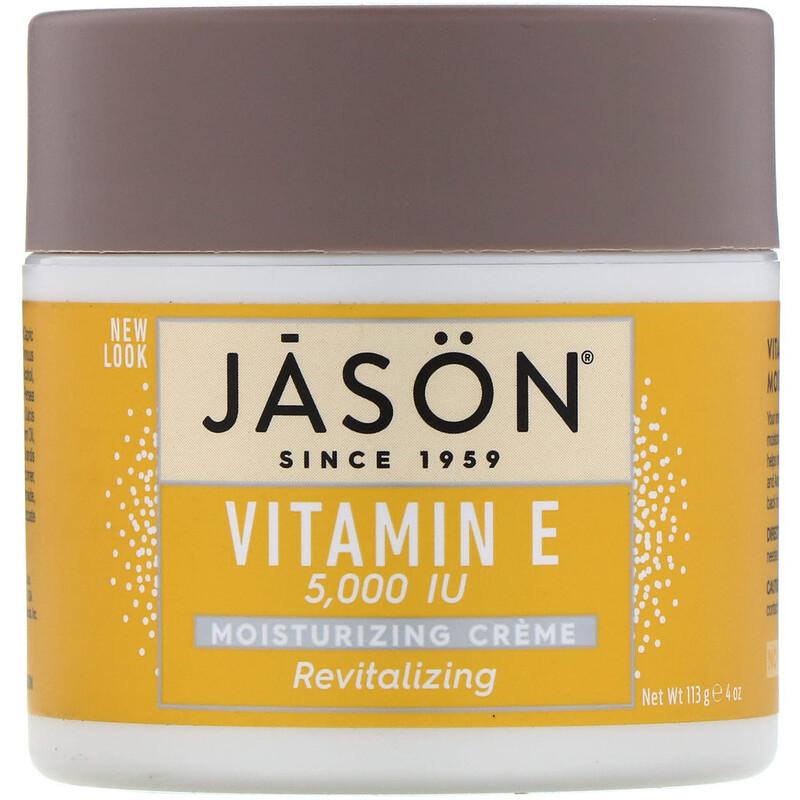 Revitalizing Vitamin E Moisturizing Creme, 5,000 IU, 4 oz (113 g)
