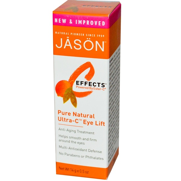 Jason Natural, C-Effects, Pure Natural Ultra-C Eye Lift, 0.5 oz (14 g) (Discontinued Item)