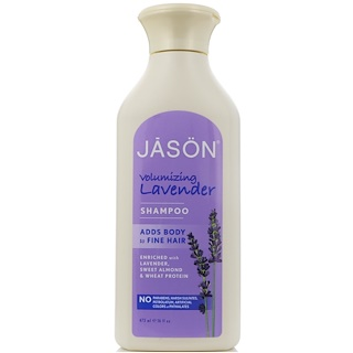 Jason Natural, Volumizing Lavender Shampoo, 16 fl oz (473 ml)