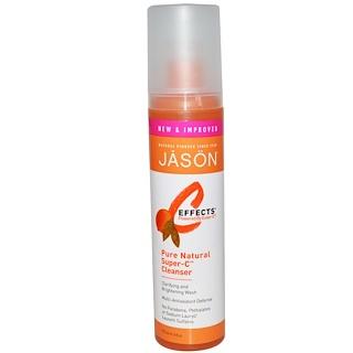 Jason Natural, C Effects, Limpiador Super-C Puro y Natural, 6 fl oz (177 ml)