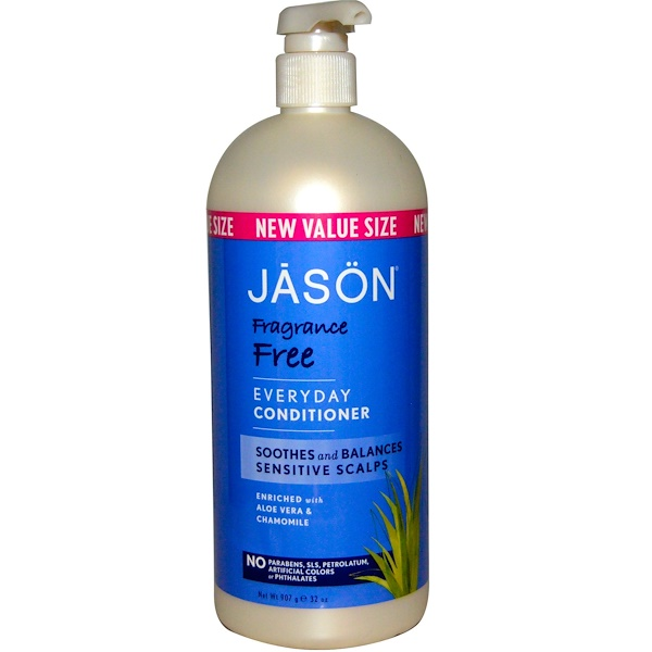 Jason Natural, Кондиционер для ежедневного применения, без отдушек, 32 унции (907 г) (Discontinued Item)