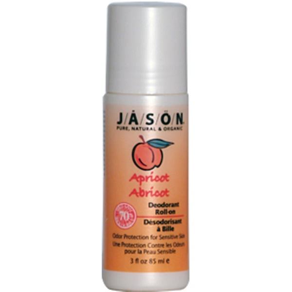 Jason Natural, Apricot Deodorant Roll-on, 3 fl oz (85 ml) (Discontinued Item)