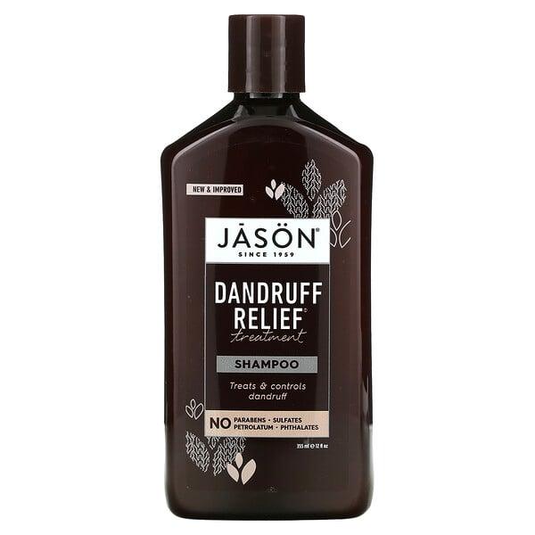Jason Natural, Dandruff Relief Treatment Shampoo, 12 fl oz (355 ml)