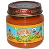 Earth's Best, Organic, Baby Food, First Carrots, Stage 1, 2.5 oz (71 g) (Discontinued Item)