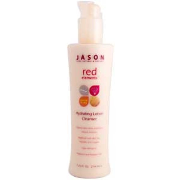 Jason Natural, Red Elements, Hydrating Lotion Cleanser, 7.25 fl oz (214 ml) (Discontinued Item)