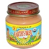 Earth's Best, Organic Baby Food, Bananas, 4 oz (113 g) (Discontinued Item)