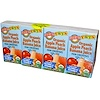 Earth's Best, Tots, Organic Apple Peach Banana Juice, 4 Boxes, 4.23 fl oz (125 ml) Each (Discontinued Item)