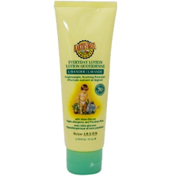 Earth's Best, Everyday Lotion, Lavender, 2.75 fl oz (75 ml) (Discontinued Item)
