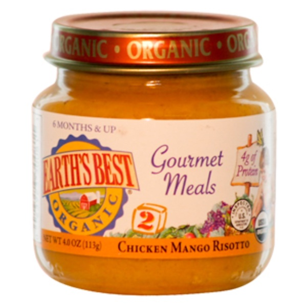 Earth's Best, Chicken Mango Risotto, 4 oz (113 g) (Discontinued Item)