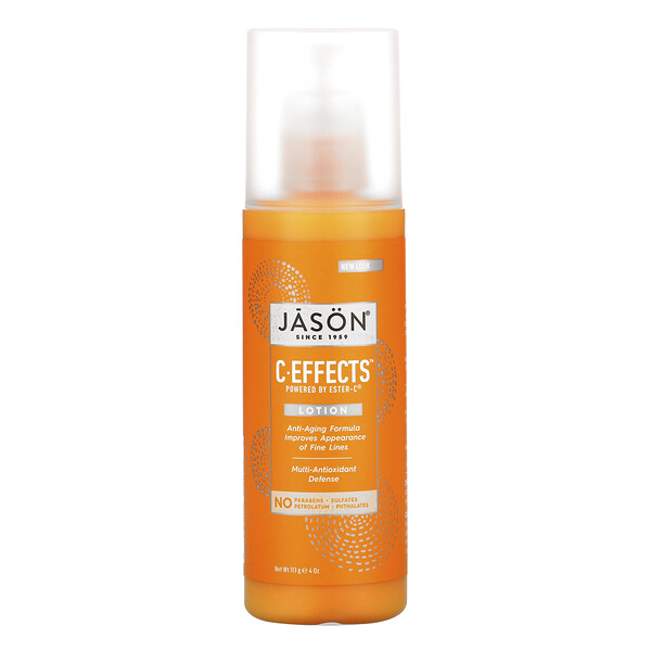 Jason Natural, C-Effects, Lotion, 4 oz (113 g) (Discontinued Item)
