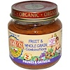 Earth's Best, Organic, Fruit & Whole Grain Combinations, Prunes & Oatmeal, 4 oz (113 g) (Discontinued Item)
