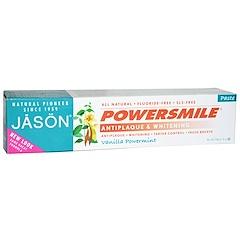 Jason Natural, Powersmile, Antiplaque & Whitening Toothpaste, Vanilla PowerMint, 6 oz (170 g)
