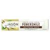 Jason Natural, Powersmile, Pasta dental blanqueadora, Vainilla y menta, 170g (6oz)