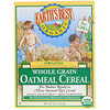 Earth's Best, Organic Whole Grain Oatmeal Cereal, 8 oz (227 g)