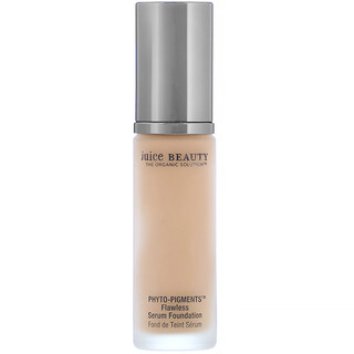 Juice Beauty, Phyto-Pigments, Flawless Serum Foundation, 20 Golden Tan, 1 fl oz (30 ml)