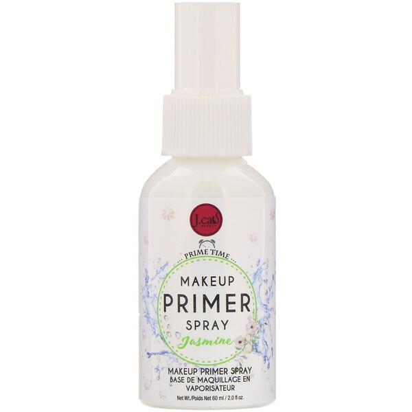 J.Cat Beauty, Makeup Primer Spray, PS102 Jasmine, 2 fl oz (60 ml)