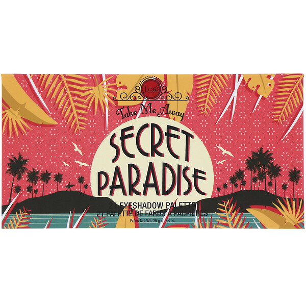 Take Me Away, Eye Shadow Pallete, ESP310 Secret Paradise, 0.88 oz (25 g)