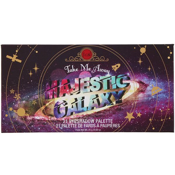 J.Cat Beauty, Take Me Away, Eyeshadow Palette, ESP302 Majestic Galaxy, 0.88 oz (25 g)