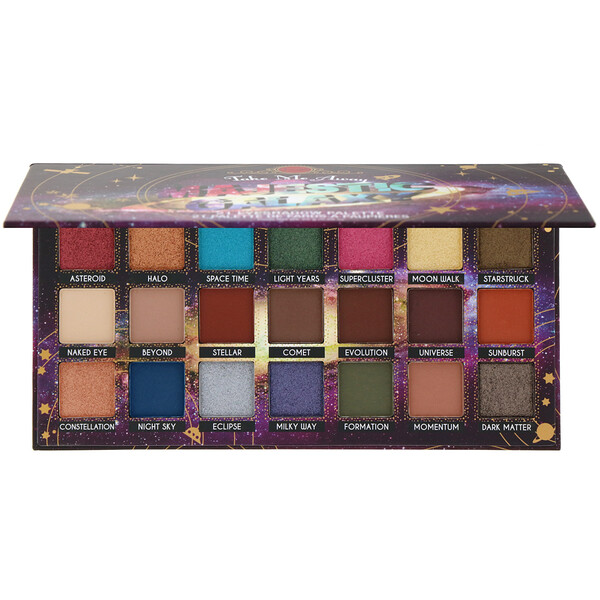 Take Me Away, Eyeshadow Palette, ESP302 Majestic Galaxy, 0.88 oz (25 g)
