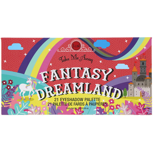 J.Cat Beauty, Take Me Away, Eyeshadow Palette, ESP303 Fantasy Dreamland, 0.88 oz (25 g)