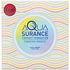 J.Cat Beauty, كريم أساس مضغوط Aquasurance، ACF100 Porcelain زنة 0.31 أوز (9 جم)