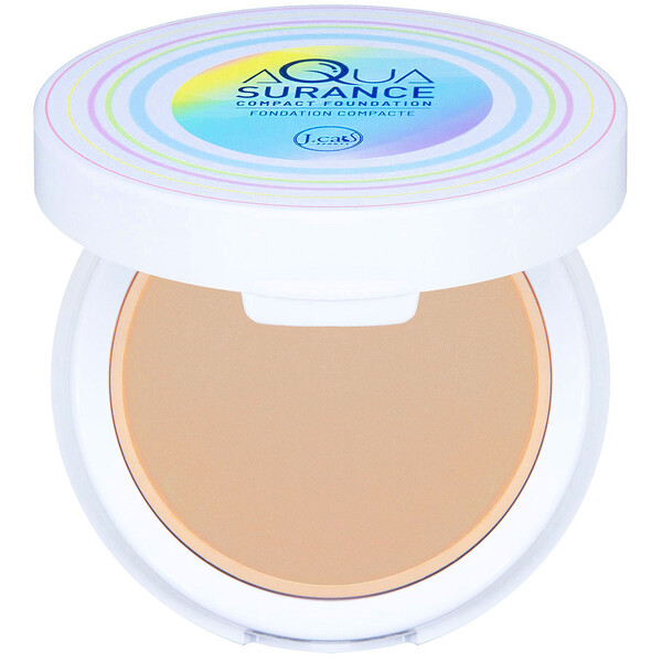 Aquasurance Compact Foundation, ACF103 Medium Beige, 0.31 oz (9 g)